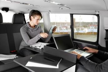 Офис на колесах Volkswagen T6