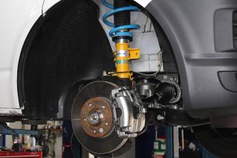 Тюнинг Volkswagen T6 Transporter 2.0 TDI от HS Motorsport